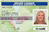 Victoria Driving License - Frontside