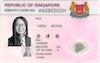 Singapore ID Card - Frontside