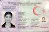 Turkey Identity Card - Frontside