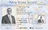 New York Driving License - Frontside