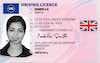 Uk Driving Licence - Frontside